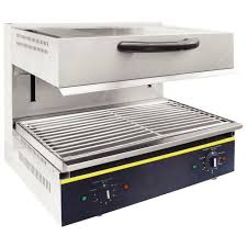 Salamandra <b>Grill</b> dimensiones zona de cocina 590x320 mm