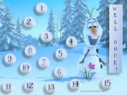 Winter Incentive Charts Frozen Sticker Charts