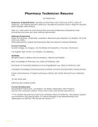 Pharmacy Resume Samples Sample Tech Resume Pharmacy Technician Resume Sample Template Sample
