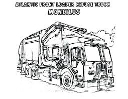 Trash Truck Coloring Pages Perfect Garbage Truck Coloring Page For