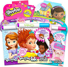This fully poseable fancy nancy doll comes dressed in her signature stylish attire and brings along a butterfly boa for an extra dose of fabulous flair! Amazon Com Disney Fancy Nancy Magic Ink Coloring Book Set Bundle Includes 3 Junior Imagine Ink Books Featuring Fancy Nancy Sofia The First Doc Mcstuffins With Invisible Ink Pens And 600 Stickers