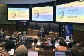 Wiki Work Yale Student Volunteers Work To Close The Wiki Gender Gap