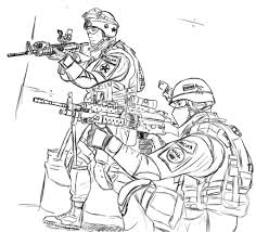 Bold Design Army Men Coloring Pages Free Printable For Kids