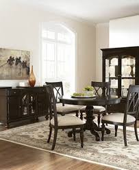 Bradford Dining Room Furniture 5 Piece Set Round Table and 4 Side Chairs  Reg 1595 Sale 1099