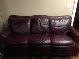 used leather couch used leather sofa for in leather couch repair kit target