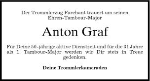 Traueranzeigen von Anton Graf   trauer.merkur.de