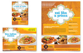 Restarunt Brochure Custom How To Make A Restaurant Flyer Printaholic