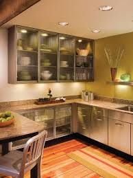 inviting kitchen gl cabinet doors
