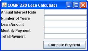 Solved You Are Required To Develop A Loan Calculator Prog