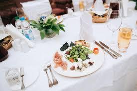 Wedding Food Tables Wedding Food On Tables Stock Photo Beorm 110917366