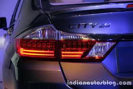 2017 Honda City Facelift Tail Lamp Press Image