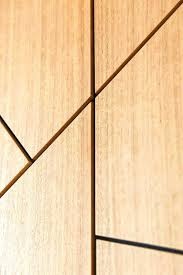 timber feature wall plywood interior