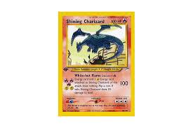shining charizard neo destiny card