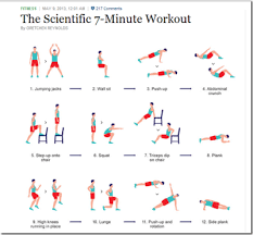 7 Minute Workout Scientific 7 Minute Workout 7 Minute