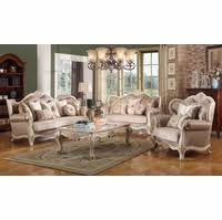 french provincial living room set. marseille french provincial sofa \u0026 loveseat set in chenille birch wood living room