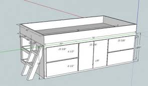 storage bed plans. Inspiring Twin Storage Bed Plans And Diy Built In 2 Days Pertaining To The