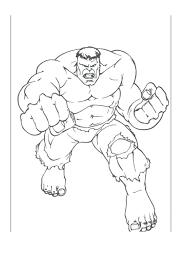 Ghim trên Tranh tô màu người khổng lồ xanh (Hulk)