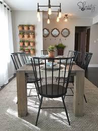 diy modern farmhouse dining table modern farmhouse dining table r41