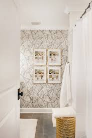 Palm Leaf Wallpaper Bathroom ...