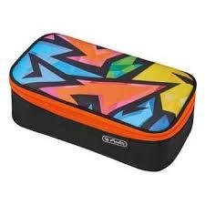 <b>Пенал</b>-<b>косметичка Herlitz</b> BEAT BOX Neon Art купить по цене ...