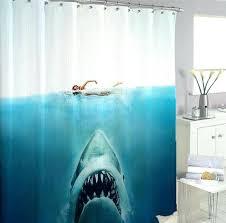 shark shower curtain shark shower curtain