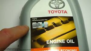 What is excellent engine oil for Toyota hybrid cars. Like Toyota ...