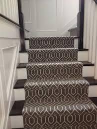 patterned stair carpet. Stair Carpet Tessio Nickel Patterned