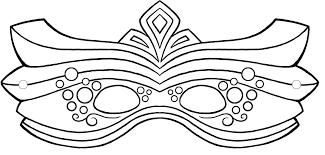 mardi gras mask template with templates mardi gras masks pics