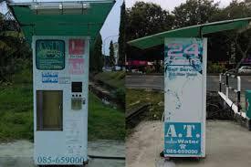 Drinking Water Vending Machine Malaysia Mesmerizing RO Drinking Water ATDunia Miri Sdn Bhd