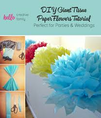 How To Make Fluffy Decoration Balls Tutorial How To Make DIY Giant Tissue Paper Flowers Hello 62