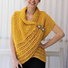 Easy Knit Poncho Pattern