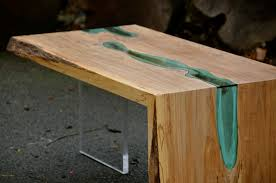 folded river coffee table