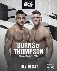 Gilbert Burns vs. Stephen Thompson ...