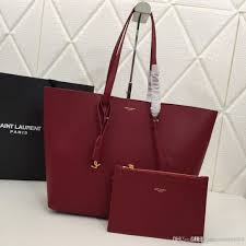 new high end trend large capacity ping bag leather tote bag black gray wine red mother and child designer bag number 1860 designer purses satchel bags