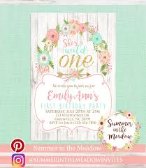 Girl Birthday Invitation Template Girls Birthday Party Invitations Awesome Baby Girl 1st