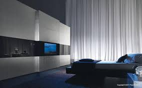 modern bedroom with tv. Super Modern Bedroom Wardrobe With A TV Built In The Door | DigsDigs Tv R