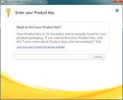 Microsoft Office 2010 Installation Professional Plus Edition