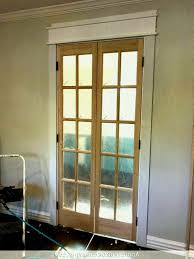 Image Of Door Gorgeous Interior French Doors Ideas Glass Install ...