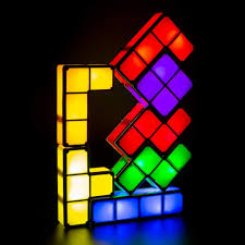 Buy Tetris Light Amazon Com Educational Toys Diy Tetris Lamp Puzzle Light