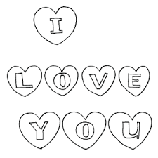 I love you coloring pages for adults wallpaper download new. I Love You Coloring Page