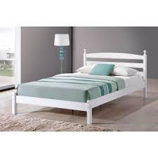 white bed frame. Delighful Bed Birlea Oslo White Bed Frame U2039 Intended Frame