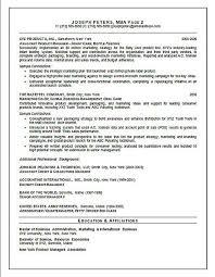 Director Of Marketing Resume Example Sample