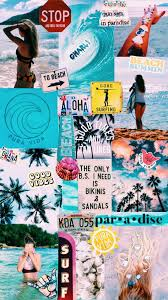 Aesthetic Summer Collage Wallpapers ...
