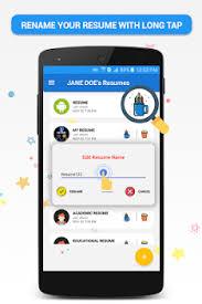 Pocket Resume Builder App Professional Cv Maker By Apps Style