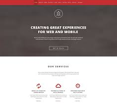 Portfolio Website Templates Mesmerizing 48 Best Single Page Website Templates Web Graphic Design Bashooka