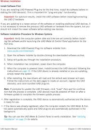 Uad Comparison Chart Uad System Manual Software Version 8 Manual Version Pdf