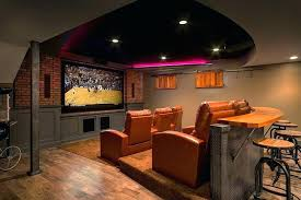 basement ideas for men. Brilliant Men Marvelous Basement Furniture Theater Room View In Gallery Custom  Designed Bar Adds To The Appeal Inside Basement Ideas For Men C