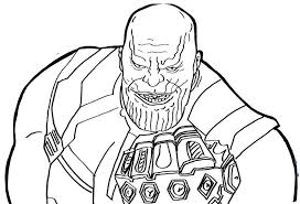 S 24 scenes detail coloring the highlights ofavengers infinity war. Thanos Coloring Pages Free Printable Coloring Pages For Kids