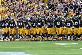 Iowa Football Roster Black Heart Gold Pants