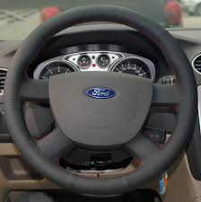 the steering wheel after cover installation